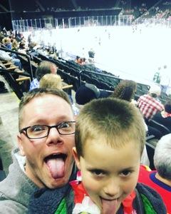 Christopher attended Jacksonville Icemen vs. Atlanta Gladiators - ECHL on Feb 10th 2018 via VetTix