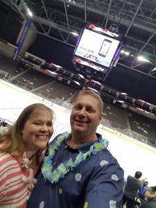JOSEPH attended Jacksonville Icemen vs. Atlanta Gladiators - ECHL on Feb 10th 2018 via VetTix