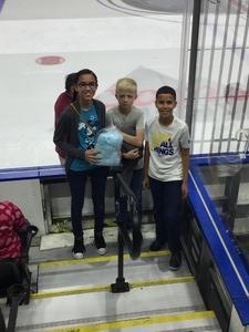Franklin attended Jacksonville Icemen vs. Allen Americans - ECHL on Feb 11th 2018 via VetTix