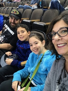 Brian attended Jacksonville Icemen vs. Allen Americans - ECHL on Feb 11th 2018 via VetTix