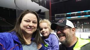 Daniel attended Jacksonville Icemen vs. Norfolk Admirals - ECHL on Feb 23rd 2018 via VetTix