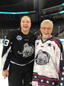 James attended Jacksonville Icemen vs. Norfolk Admirals - ECHL on Feb 23rd 2018 via VetTix