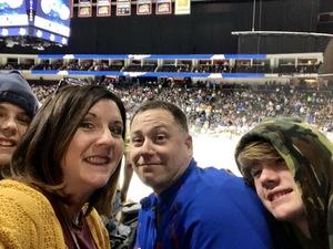 Terri attended Jacksonville Icemen vs. Norfolk Admirals - ECHL on Feb 23rd 2018 via VetTix
