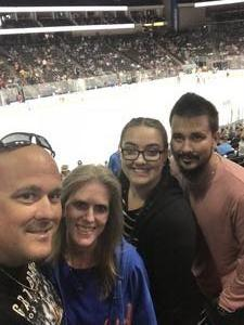 Robert attended Jacksonville Icemen vs. Brampton Beast - ECHL on Feb 25th 2018 via VetTix