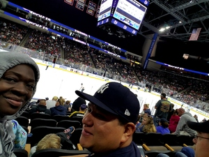 Wykina attended Jacksonville Icemen vs. Brampton Beast - ECHL on Feb 25th 2018 via VetTix