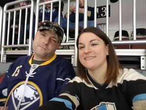 Francesca attended Wichita Thunder vs. Rapid City Rush - ECHL on Feb 17th 2018 via VetTix