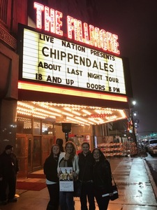Jennifer H. attended Chippendales 2018: About Last Night Tour on Feb 15th 2018 via VetTix