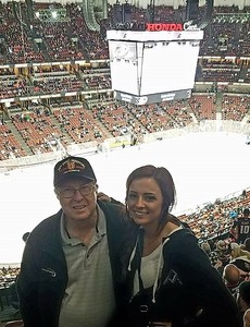 Patrick attended Anaheim Ducks vs. Edmonton Oilers - NHL - Antis Roofing Community Corner! on Feb 9th 2018 via VetTix