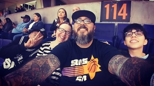 Julian attended Phoenix Suns vs. San Antonio Spurs - NBA on Feb 7th 2018 via VetTix