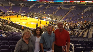Doug attended Phoenix Suns vs. San Antonio Spurs - NBA on Feb 7th 2018 via VetTix