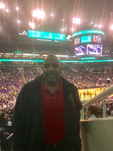Vincent attended Phoenix Suns vs. San Antonio Spurs - NBA on Feb 7th 2018 via VetTix