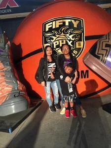 Tresilla attended Phoenix Suns vs. Denver Nuggets - NBA on Feb 10th 2018 via VetTix