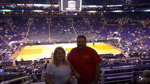 MARK attended Phoenix Suns vs. Denver Nuggets - NBA on Feb 10th 2018 via VetTix