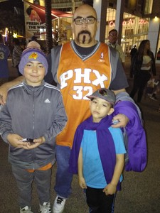 Albert attended Phoenix Suns vs. Denver Nuggets - NBA on Feb 10th 2018 via VetTix