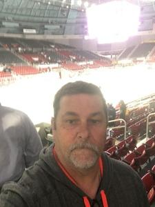 Terry attended Charlotte Checkers vs. Syracuse Crunch _ AHL on Feb 18th 2018 via VetTix
