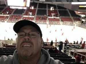 Keith attended Charlotte Checkers vs. Syracuse Crunch _ AHL on Feb 18th 2018 via VetTix