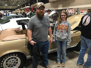 Edward attended Mecum Auctions 2018 - Good for One Day on Mar 16th 2018 via VetTix