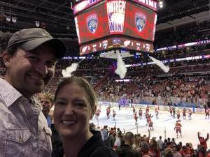 Josh attended Florida Panthers vs. Detroit Red Wings - NHL on Feb 3rd 2018 via VetTix
