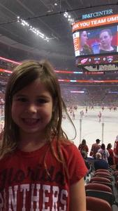 Benjamin attended Florida Panthers vs. Detroit Red Wings - NHL on Feb 3rd 2018 via VetTix