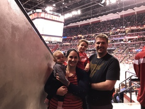 Christopher attended Florida Panthers vs. Detroit Red Wings - NHL on Feb 3rd 2018 via VetTix