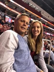 Bob attended Florida Panthers vs. Detroit Red Wings - NHL on Feb 3rd 2018 via VetTix