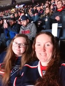 Julie attended Columbus Blue Jackets vs. Philadelphia Flyers - NHL on Feb 16th 2018 via VetTix