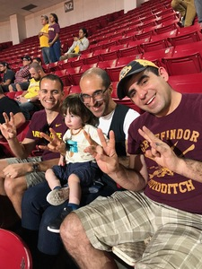 james attended Arizona State University Sun Devils vs. Stanford - NCAA Men's Basketball on Mar 3rd 2018 via VetTix