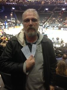 Roger attended 2018 ACC Men's Basketball Tournament - 12pm & 2pm Session on Mar 6th 2018 via VetTix