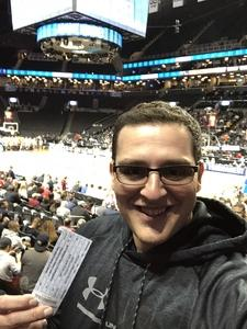 Billy attended 2018 ACC Men's Basketball Tournament - 12pm & 2pm Session on Mar 6th 2018 via VetTix