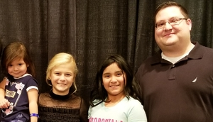 Luis attended Darci Lynne and Friends Live - VIP Meet and Greet on Feb 11th 2018 via VetTix