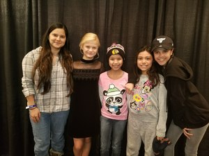 isaura attended Darci Lynne and Friends Live - VIP Meet and Greet on Feb 11th 2018 via VetTix