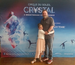 Edward attended Cirque Du Soleil Crystal - Presented by the HEB Center on Feb 16th 2018 via VetTix