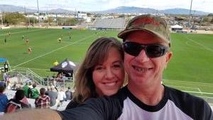 Harold attended 2018 Mobile Mini Sun Cup Day 2 - Tickets Good for All Three Games! on Feb 17th 2018 via VetTix
