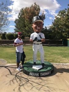 David attended Chicago White Sox vs. Texas Rangers - MLB Spring Training on Feb 28th 2018 via VetTix
