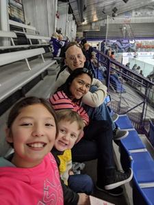 Maria attended Lone Star Brahmas vs. Kenai River Brown Bears - NAHL on Mar 2nd 2018 via VetTix