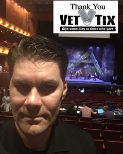 PAUL attended Puccini's LA Boheme - Dress Rehearsal Performance - Presented by Opera San Antonio on May 15th 2018 via VetTix