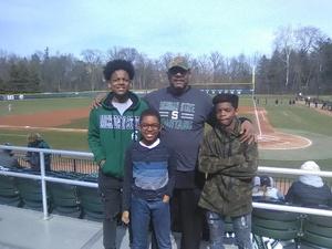 Joseph attended Michigan State Spartans vs. Rutgers - NCAA Men's Baseball on Mar 30th 2018 via VetTix