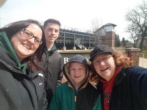 Tracy attended Michigan State Spartans vs. Rutgers - NCAA Men's Baseball on Mar 30th 2018 via VetTix