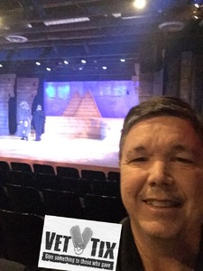 Glenn attended The Hobbit by Valley Youth Theatre - Special Military Performance on Feb 23rd 2018 via VetTix