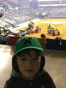 Naomi attended Traxxas Monster Truck Tour on Feb 17th 2018 via VetTix