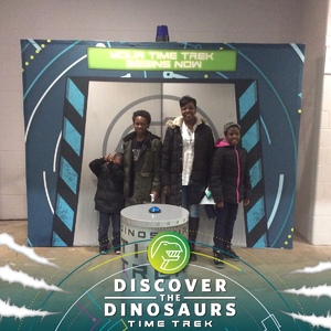 Angela G. Reed attended Discover the Dinosaurs - Time Trek - Presented by Vstar Entertainment on Mar 23rd 2018 via VetTix