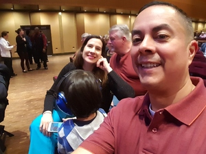 Cruz attended Cher Live at the MGM National Harbor Theater on Feb 22nd 2018 via VetTix