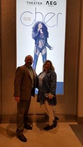 David attended Cher Live at the MGM National Harbor Theater on Feb 22nd 2018 via VetTix