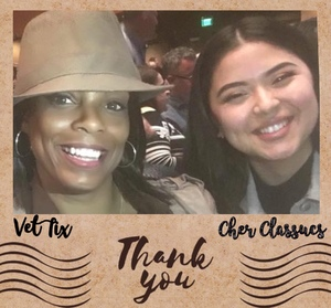 Yola attended Cher Live at the MGM National Harbor Theater on Feb 22nd 2018 via VetTix