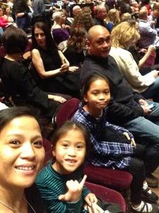 Marie attended Cher Live at the MGM National Harbor Theater on Feb 22nd 2018 via VetTix