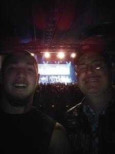Kevin attended G3 Featuring Joe Satriani, John Petrucci of Dream Theater, and Phil Collen of Def Leppard on Feb 25th 2018 via VetTix