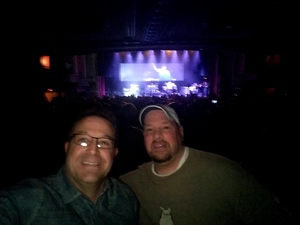 Brian attended G3 Featuring Joe Satriani, John Petrucci of Dream Theater, and Phil Collen of Def Leppard on Feb 25th 2018 via VetTix