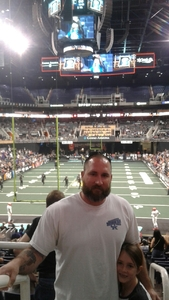 Joshua attended Arizona Rattlers vs. Sioux Falls Storm - IFL on Feb 25th 2018 via VetTix