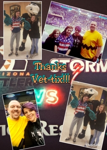 Ryan attended Arizona Rattlers vs. Sioux Falls Storm - IFL on Feb 25th 2018 via VetTix