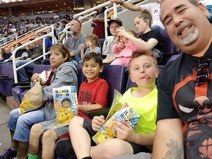 JUAN attended Arizona Rattlers vs. Sioux Falls Storm - IFL on Feb 25th 2018 via VetTix